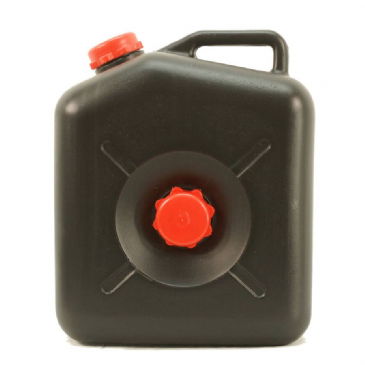 23 Litre Black Waste Water Carrier Jerry Can